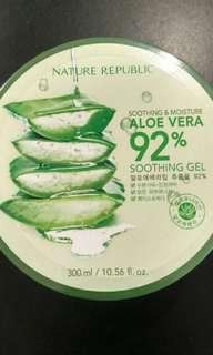 NATURE REPUBLIC aloe vera gel isi 90%