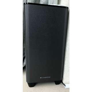 Bluetooth TV Soundbar With Wireless Subwoofer - 藍牙電視喇叭連無線超低音套裝(Cambridge Audio)