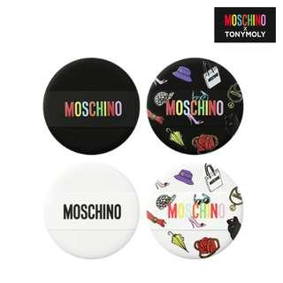 Moschino x TonyMoly Makeup Puff Set 粉樸套裝 4pcs Tony Moly