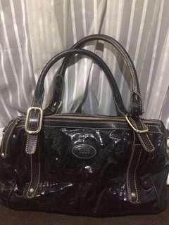 Tods charcol color  hand bag 8500