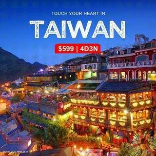 4D3N ALL-IN TAIWAN TOUR PACKAGE (via Manila)