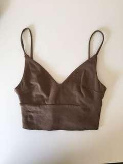 KOOKAI bralette brown
