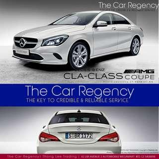 Mercedes-Benz CLA-Class CLA180 (A)