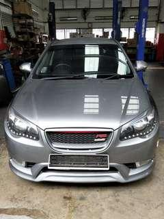 Hyundai Avente Rent out for Grab (M)