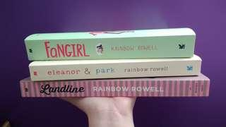 Rainbow Rowell Books Set
