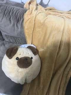 Balmut bantal selimut