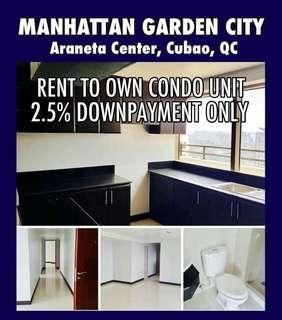 GET 5% CHRISTMAS PROMO DISCOUNT AROUND 300K UP TO 700K RENT TO OWN CONDO AT MANHATTAN GARDEN CITY STARTS AT 19K MO.