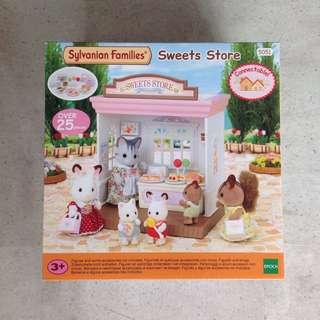 Brand New Sylvanian Families Sweets Store