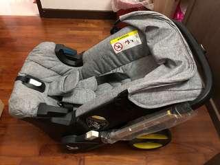 Doona inspired car seat stroller (not the original doona)