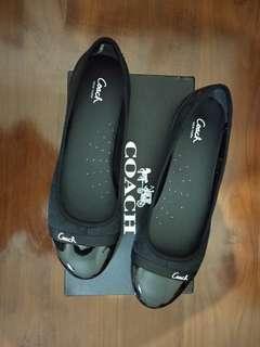 Sepatu coach original size 39 black