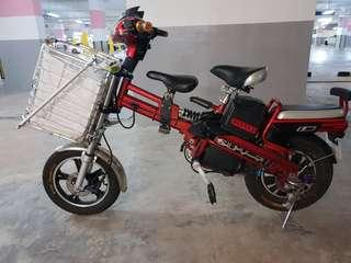 SRE SUV-7 v3 16 Electric Bicycle. Great condition.