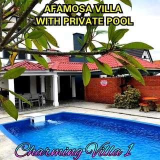 HOMESTAY AFAMOSA VILLA WITH PRIVATE POOL