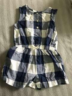 Carter's Summer checkered dress