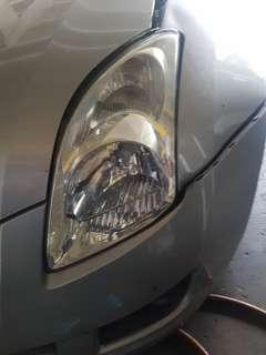 Suzuki swift  head lamp 1pc