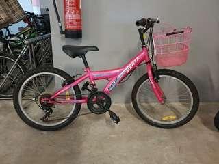 Kids Bicycle pink