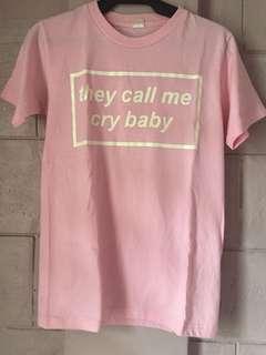 Crybaby by Melanie Martinez Pink T-Shirt