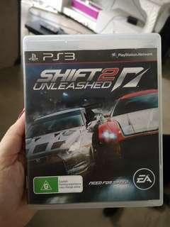 Shift Unleashed 2 for PS3