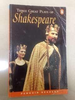 🚚 Shakespeare 英文原文書 企鵝出版社 Penguin Reader level 4 沙士比亞