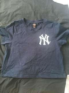 Yankees Crop Top
