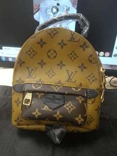 Brand new lv mini backpack