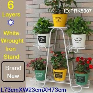 Plant Stand / Flower Stand - 6 Layers - Brand New Piece