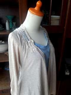 Preloved Maurices Cotton Cardigan