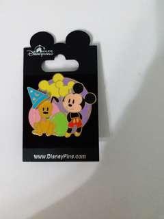 Disney Pin 廸士尼徽章 Mickey (包郵)