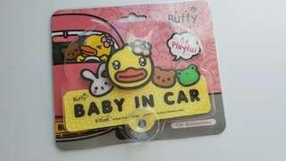 B Duck的 Baby in the Car