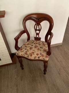 Antique Tapestry Chair