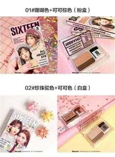 SIXTEEN 16 Brand Eyeshadow