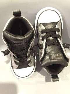 Converse All Star Shoes in grey/black-New