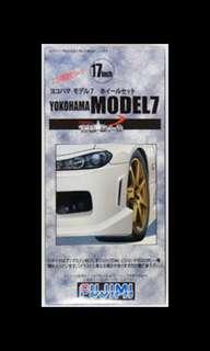 徵求 fujimi 1/24 TW 67 17inch Yokohama Model 7 Wheel