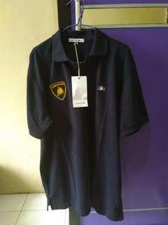 Polo shirt (biru dongker)