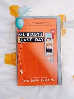 🚚 Ms Bixby's Last Day
