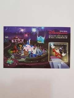Hong kong disneyland grand opening