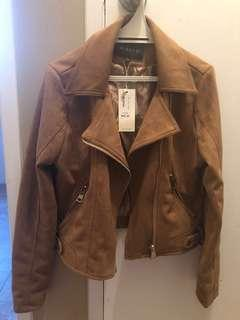 Tan jacket BRAND NEW