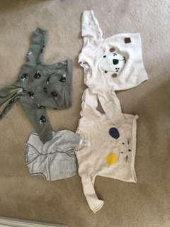 Baby boy jumpers size 000 (3-6 months)
