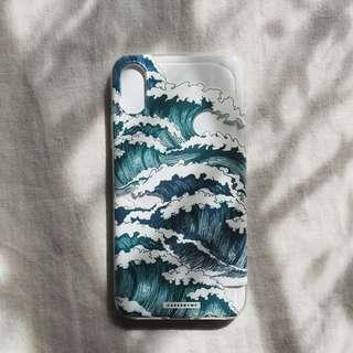 iPhone X Waves Case