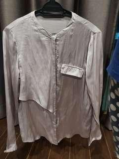 Zara grey top