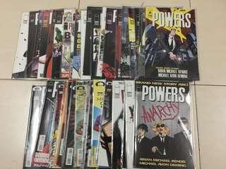 Powers Image Comics Run Bendis #1-#37 Complete Run Brian Michael Bendis Mike Avon Oeming