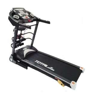 Treadmill TL 8600 Manual Incline 3 In 1 Karpet Lebar Paling Laris