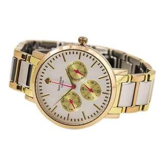 Kate Spade New York Women's Gramercy Grand Gold Ion-Plated Watch