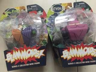 Blammoids Dc Funko Type Figure Rare Two Face & Catwoman Figure Batman