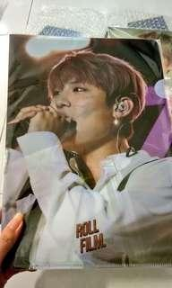 Wanna One Woojin A4 File + Photocards + Poster