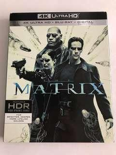 美版 Matrix 4k + bluray