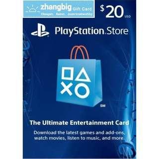 PSN Gift Card USD20