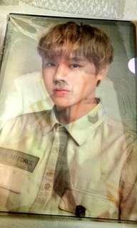 Wanna One Park Jihoon Lenticular File