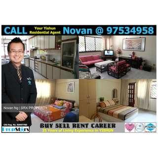 HDB 5I Blk 647 Yishun Street 61 5-Room Improved