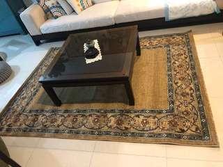 Reduced Kashmar Belgium carpet