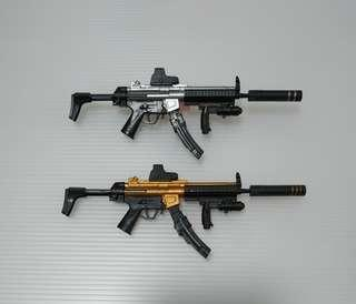 1/6 MP5 (Repainted GOLD SILVER)